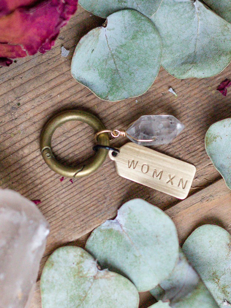 WOMXN | Wearable Love Note | Anice Jewellery