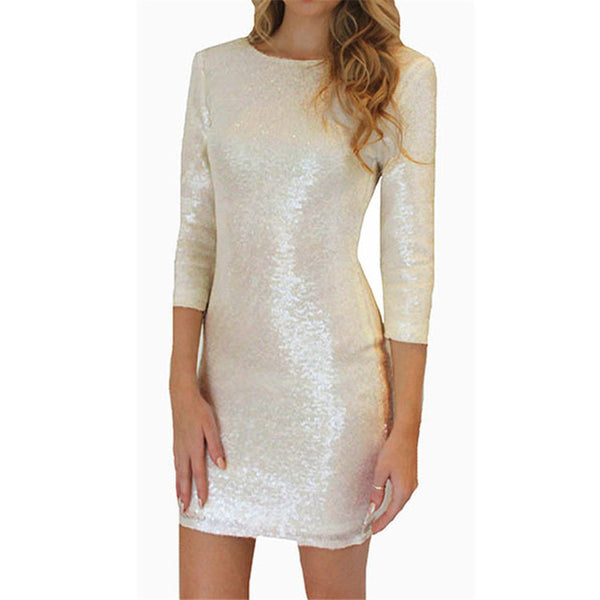 Victoria Sequin Dress