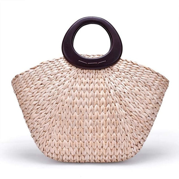 Stacey Straw Handbag