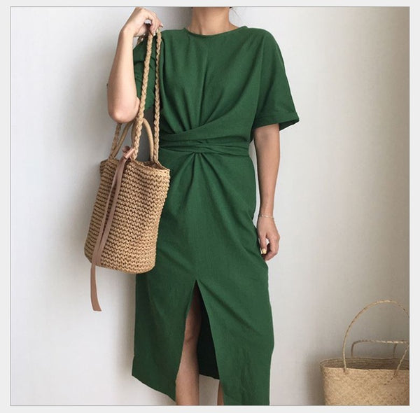 Linika Knot Dress