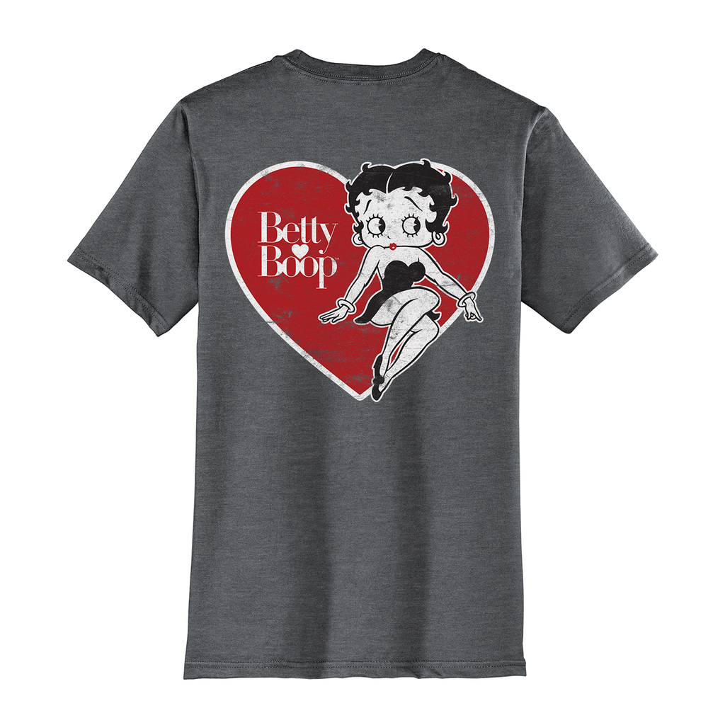 Big & Tall Betty Boop Big Heart T-Shirt