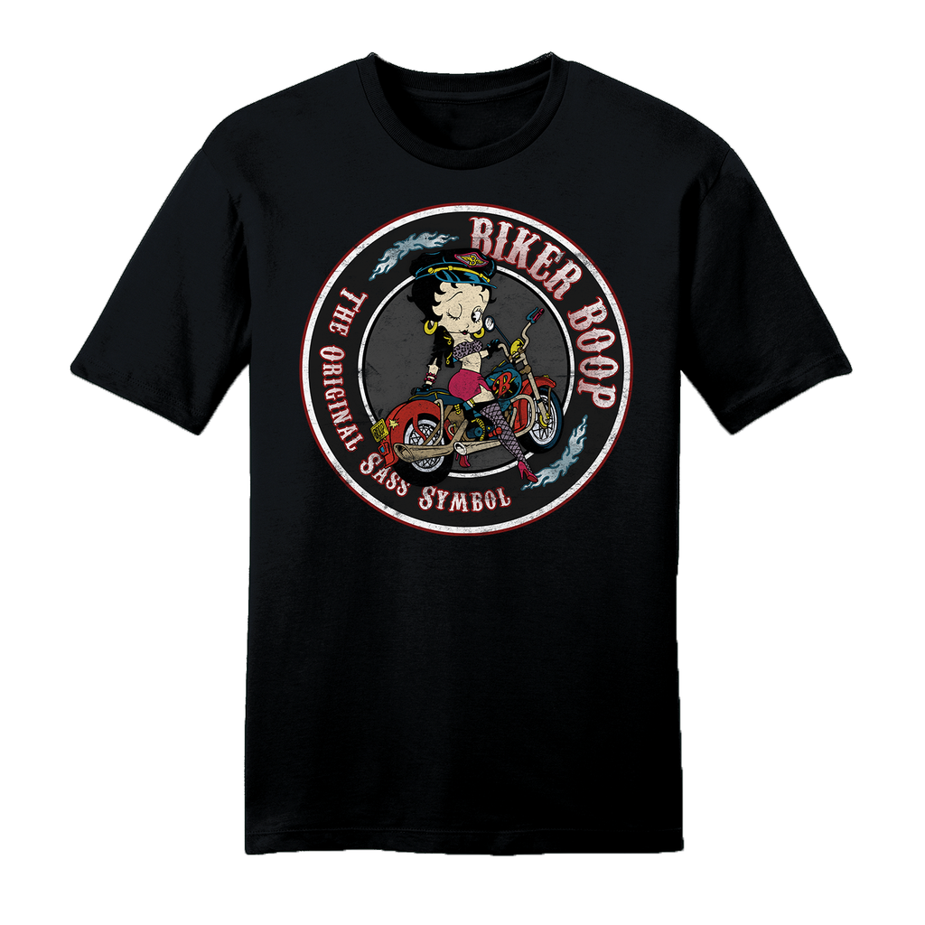 Big & Tall Betty Boop Biker Unisex T-Shirt