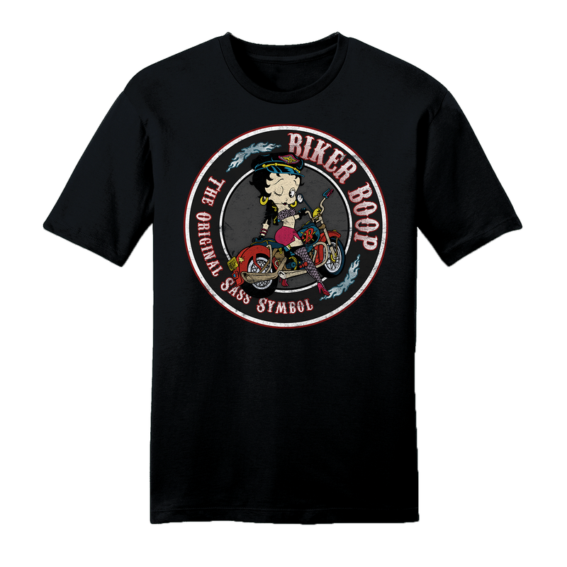 Official Betty Boop Biker Unisex T-Shirt