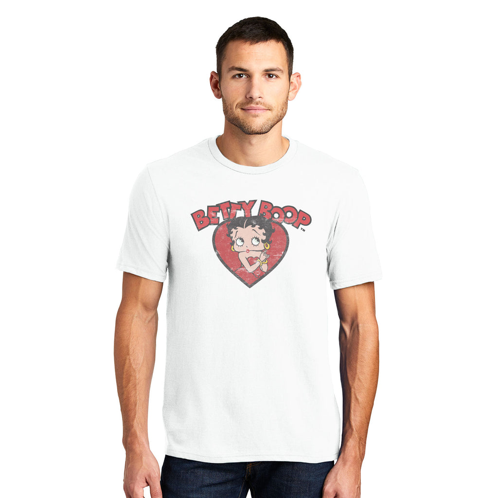 Big & Tall Betty Boop Vintage Classic Unisex T-Shirt