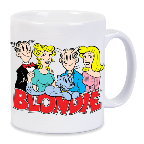 Blondie Dagwood Pop Art Mug