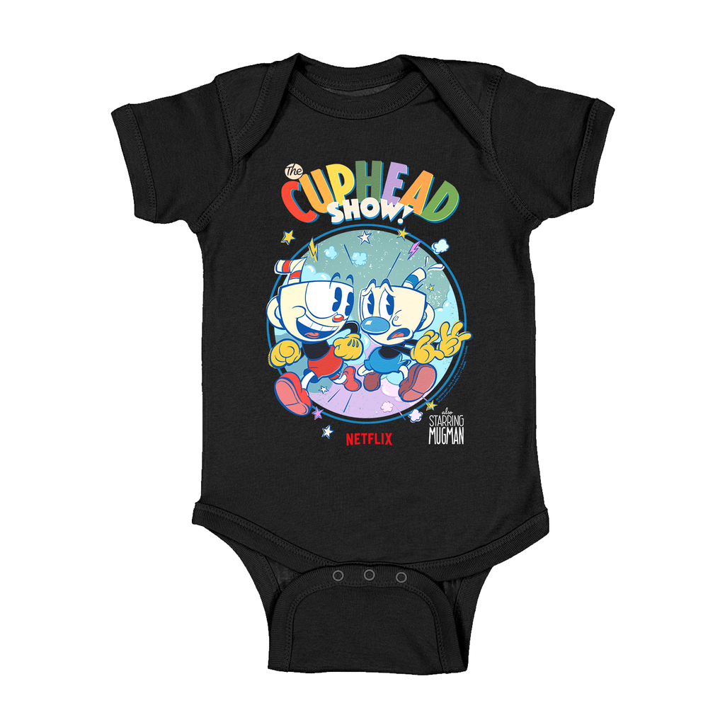 Cuphead Netflix Limited Edition Onesie - Black