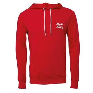 Dennis the Menace Embroidered Logo Hoodie Red