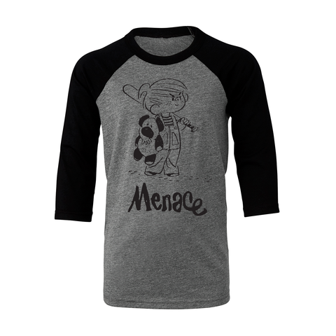 Dennis the Menace 'Menace' T Shirt Dark Heather