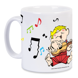 Dennis the Menace 'Musical Menace' Mug