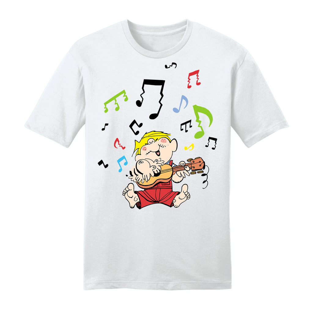 Dennis the Menace 'Musical Menace' T Shirt White