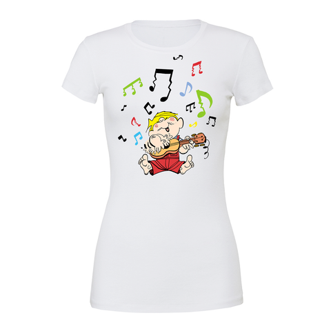 Betty Boop 'Red Betty' Women's Ringer T-Shirt - Pink
