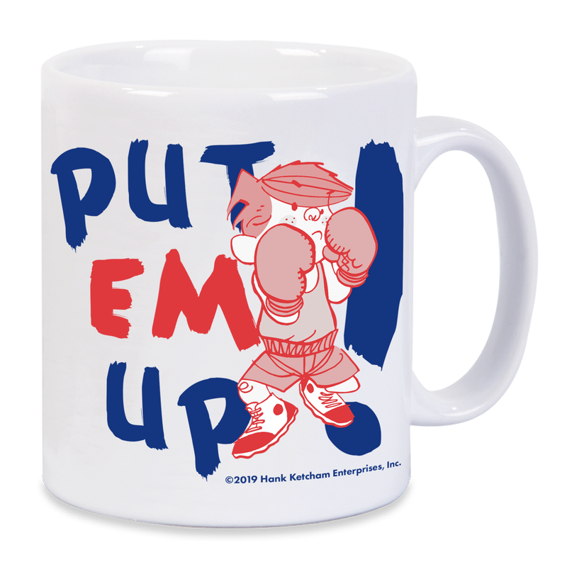 Dennis the Menace 'Put Em Up!' Mug