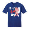 Dennis the Menace 'Put Em Up' T Shirt Royal Blue