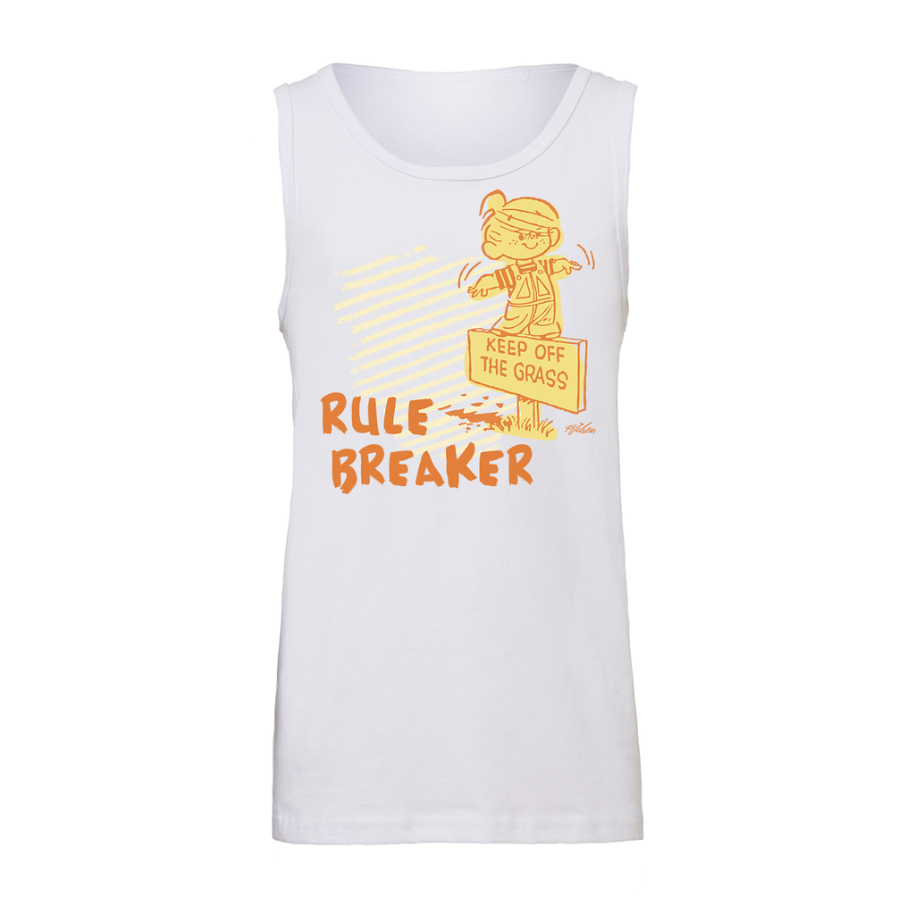 Dennis the Menace Rule Breaker Kids' Tank White