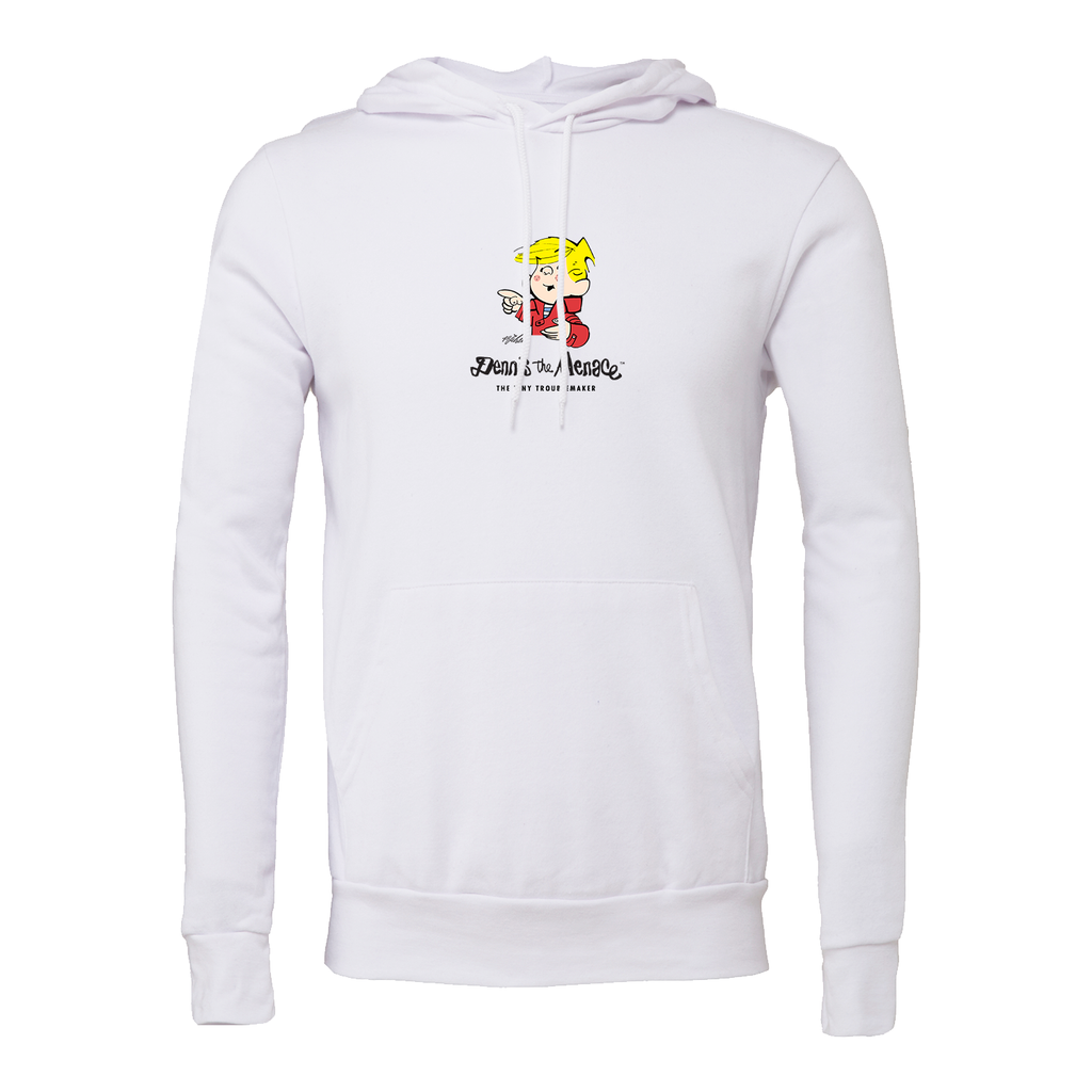 Dennis the Menace 'Tiny Troublemaker' Hoodie White