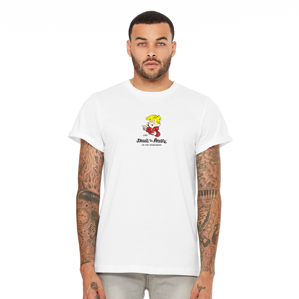 Dennis the Menace 'Tiny Troublemaker' T Shirt White