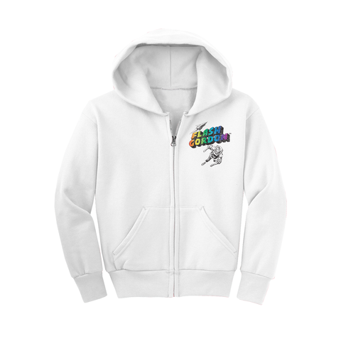 Popeye 'Strong to the Finish' Youth Hoodie Heather Grey