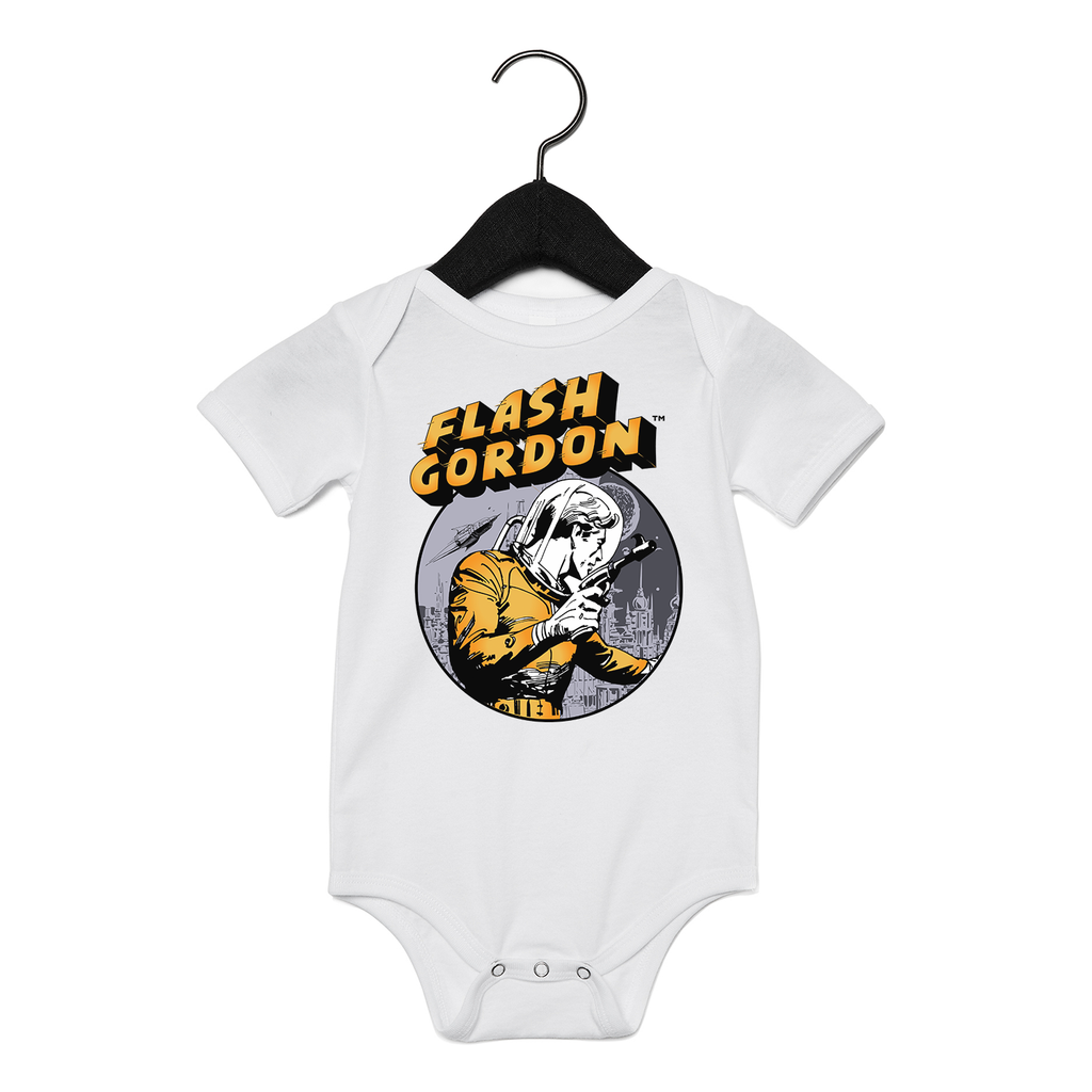 Flash Gordon Laser Baby Onesie