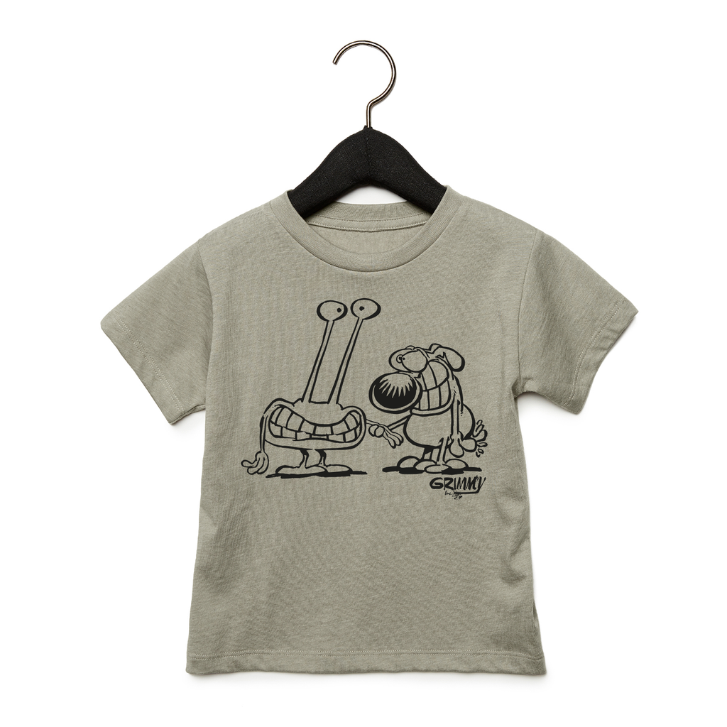 Grimmy and Alien Toddler Tee