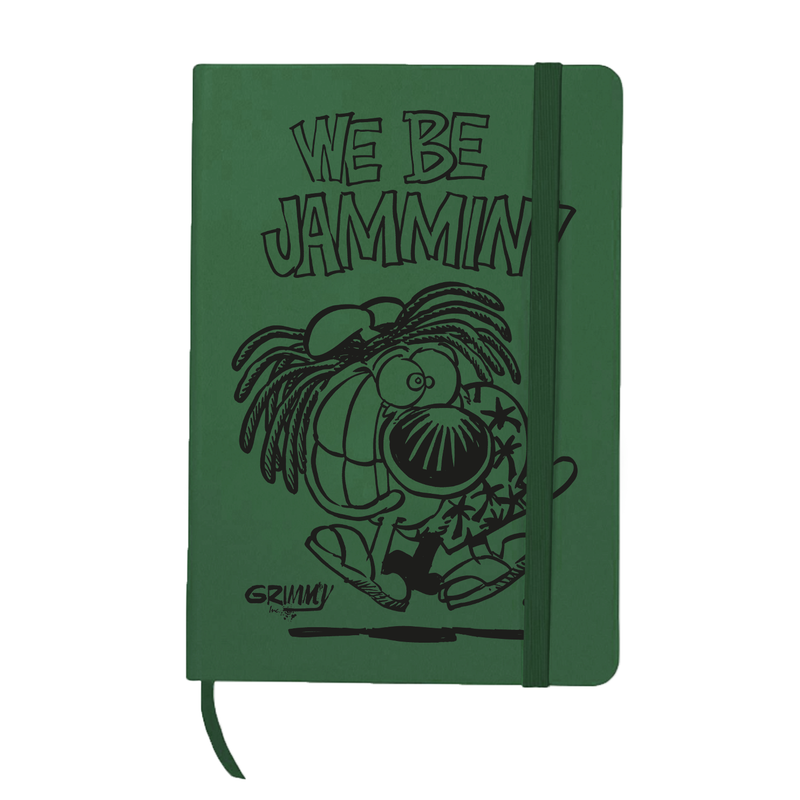 Grimmy We Be Jammin Green Journal