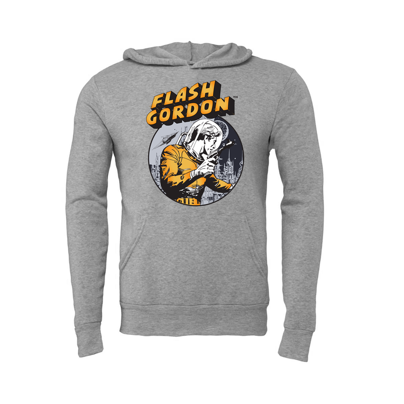 Big & Tall Flash Gordon Laser Hoodie