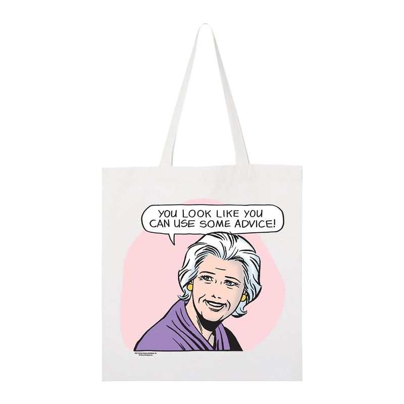 Mary Worth Advice Tote