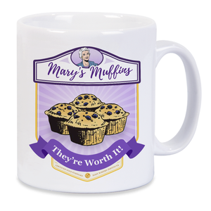 Mary Worth Mary's Muffins Mug
