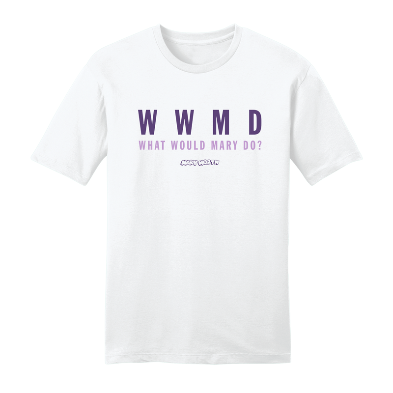 Big & Tall Mary Worth WWMD White Unisex T-Shirt