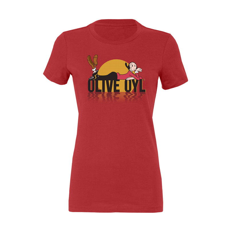 Olive Oyl Sunset Women's T-Shirt