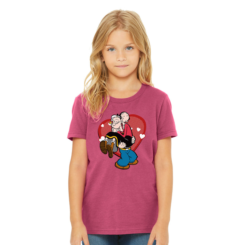 Popeye Loves Olive Oyl Kids' T-Shirt