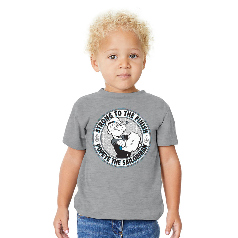 Popeye Strong to the Finish Toddler T-Shirt
