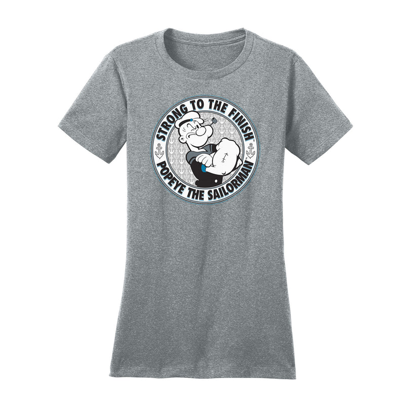 Popeye Strong to the Finish Women's T-Shirt