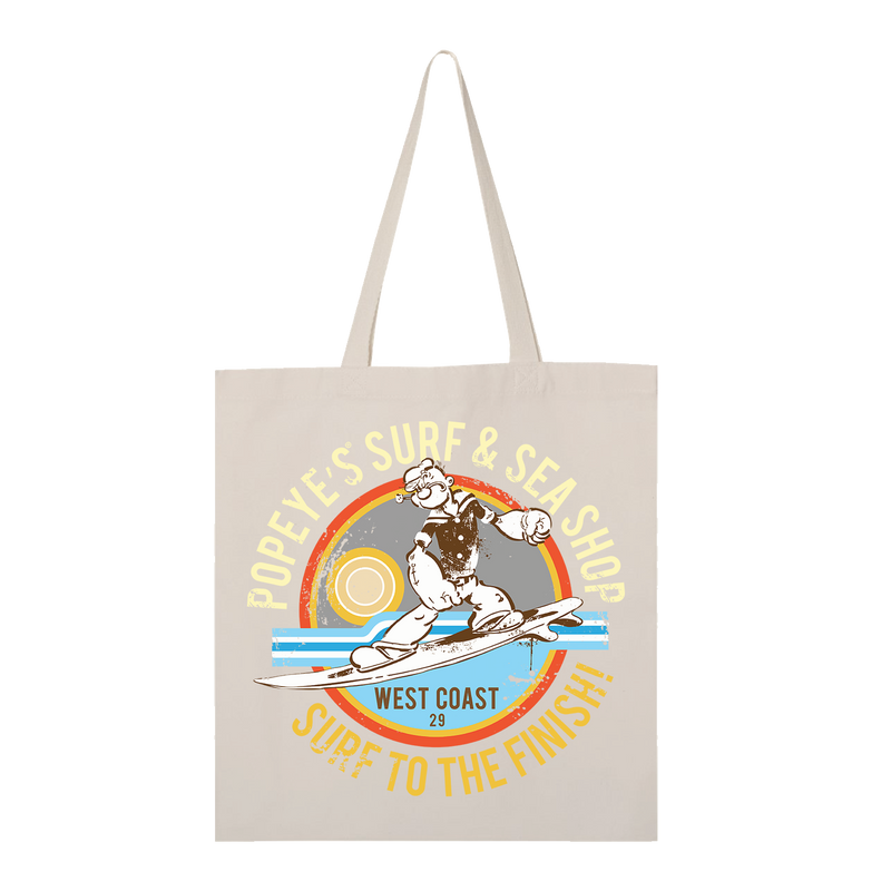 Comic Con Exclusive Popeye Surf & Sea Shop Tote