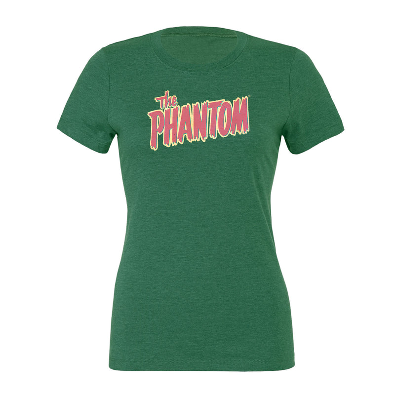 The Phantom Logo Women's T-Shirt Heather Green