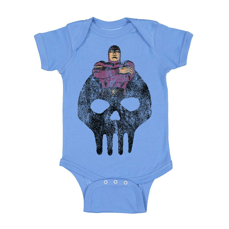 The Phantom The Ghost Who Walks Baby Onesie