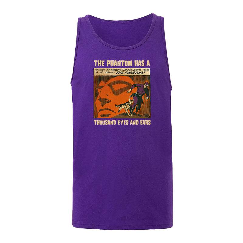 The Phantom Thousand Eyes Unisex Tank Purple