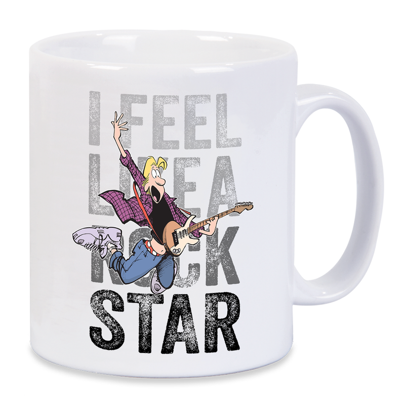 Zits I Feel Like A Rock Star Mug