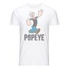 Popeye Anchor Text Kid's T-Shirt Black