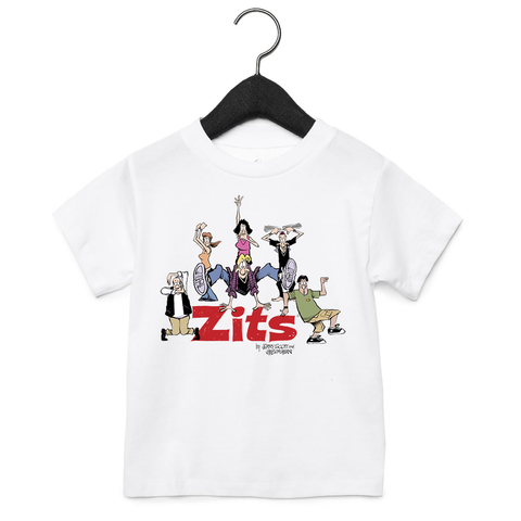 Zits 'I Feel Like A Rock Star' Toddler T-Shirt Royal Blue