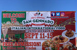 *San Gennaro Feast Las Vegas: $20.00 value pair of  VIP Admissions: SEPTEMBER 11th-15th, 2019 @ 215/Durango (in front of IKEA)- all tickets will be placed at will call after event opens!