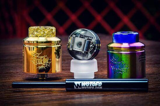 Mesh Atomizer Game Changer, Wotofo Profile RDA