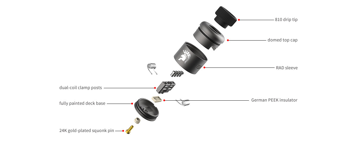 warrior rda components