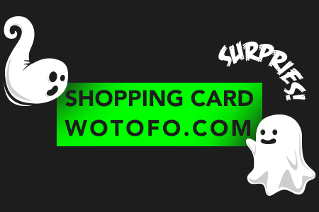 Halloween 50 Dollars Shopping Card Game By Wotofo Brand