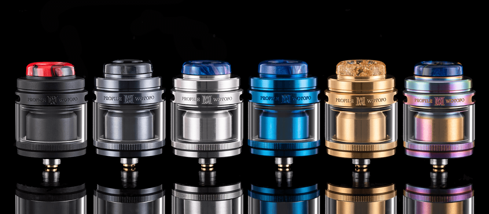 Profile M RTA with Straight Tube
