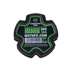 Wotofo Specialty Wire Spool 20 Feet Fused Clapton Triple Core Dual Core