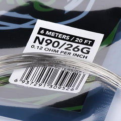 Wotofo Ni90 Competition Wire 20ft 26g
