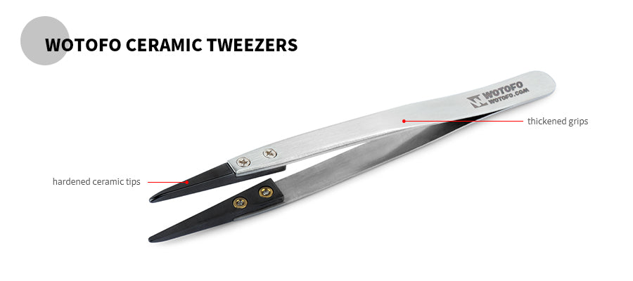 Wotofo Ceramic Tweezers-2