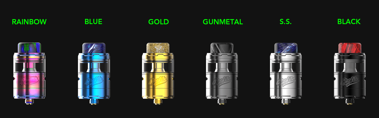 wotofo profile unity rda color all