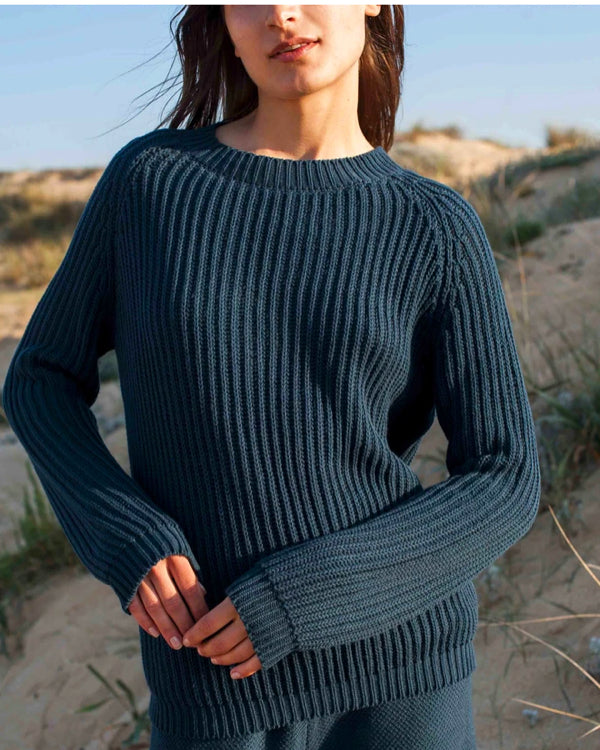 Organic cotton vegan & sustainable knitwear by L'Envers