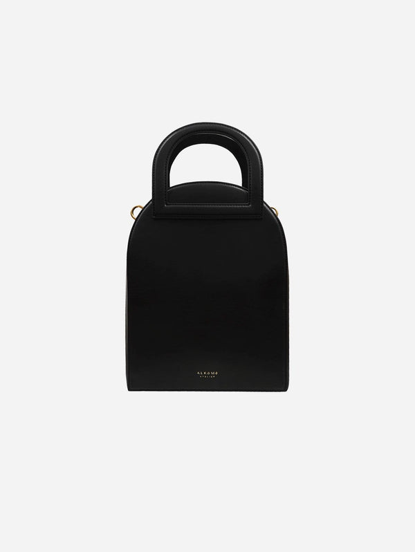 Alkeme Atelier EARTH Vegan Leather Arch Satchel | Black